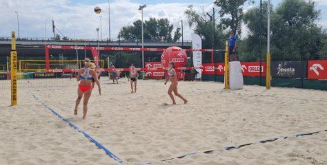 UMKS MOS Wola zdominował Mistrzostwa Polski w siatkówce plażowej